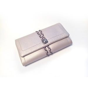 Brighton Womens Off White Barbados Trifold Wallet